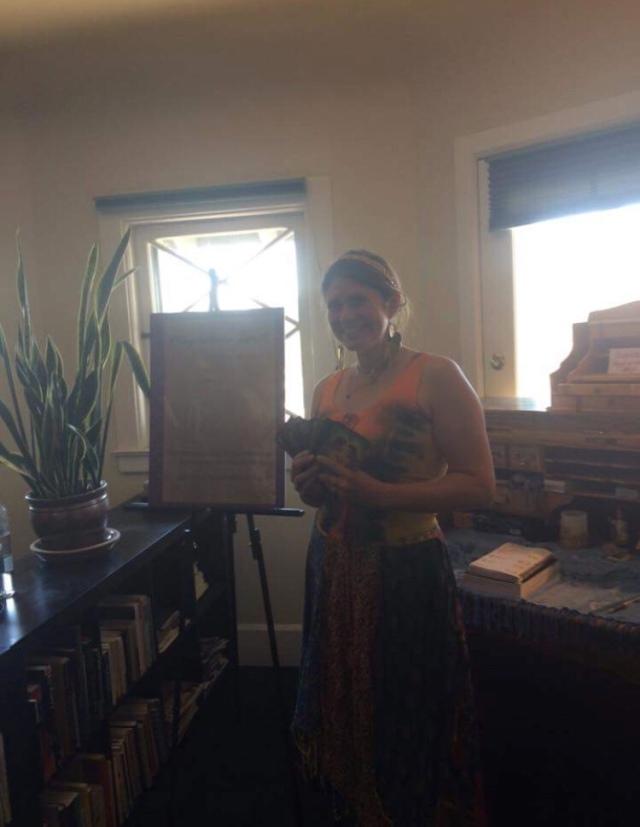 First psychic fair I did in Denver summer 2016