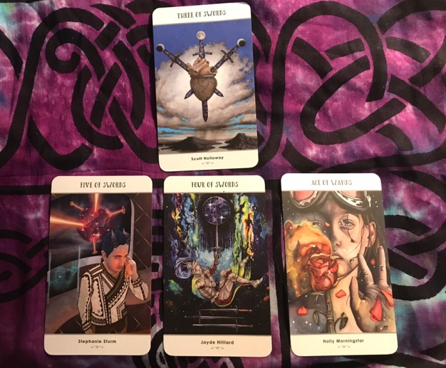 My soul story in a tremendously accurate tarot reading